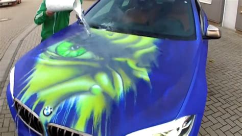 a bmw turn into the when splashed with water nerdist