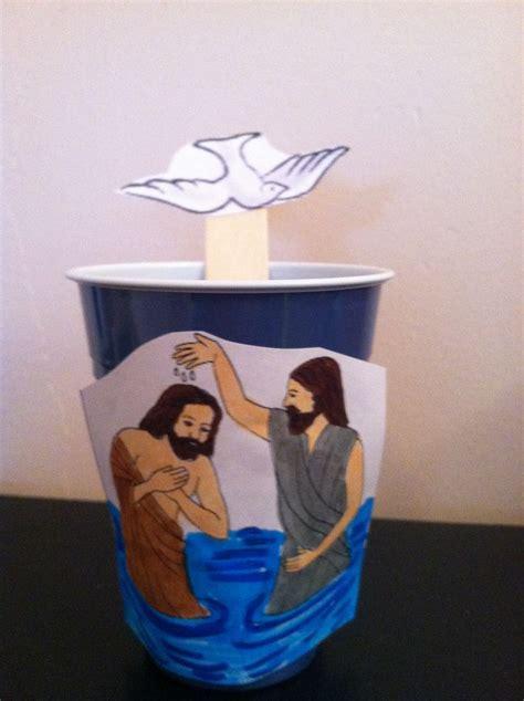 john  baptist  jesus craft bible activities
