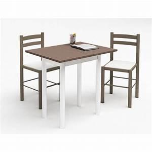 Ophreycom table chaises cuisine occasion prelevement for Petite table cuisine