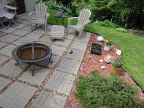 flagstone patio ideas onbudget with unique pit