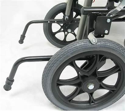Anti Chair Wheelchairs Pair Transport Tipper Karman