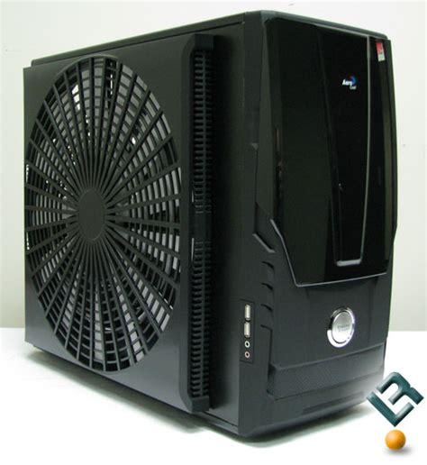 biggest pc case fan aerocool aeroracer pro pc case review legit reviewsthe