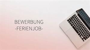 Bewerbung Ferienjob Student : bewerbung alphajump ~ Eleganceandgraceweddings.com Haus und Dekorationen