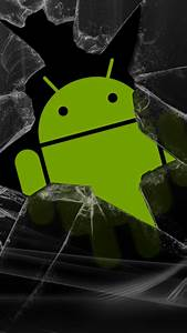 Android Robot Broken Screen Android Wallpaper free download