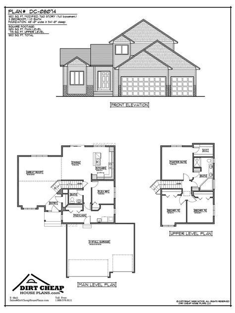two house plans with basement inspiring cheap home plans 8 two house plans with