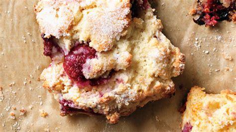fast raspberry scones