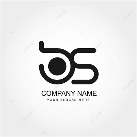 initial letter bs logo template vector design template     pngtree