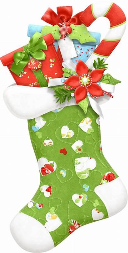 Stocking Clipart Clip Stockings Merry Navidad Sock