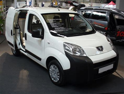 peugeot bipper peugeot bipper technical details history photos on