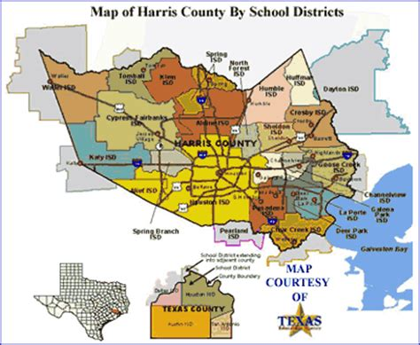 cities  included  harris county