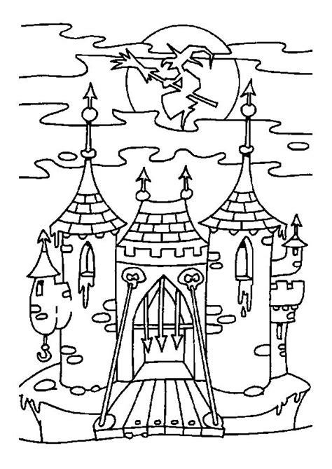 recette de cuisine en gratuit coloriage sorciere chateau sur hugolescargot com