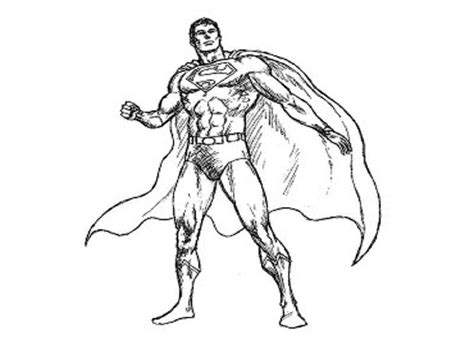 Best Free Superman Coloring Pages Image Free Coloring