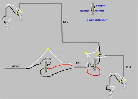 3 way switch diagram power at light wiring diagram