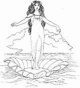 Greek Coloring Box Aphrodite Pages Gods Mythology God Pandoras Pandora Ancient Unit Study Adult Goddess Greece Badge Google Illustrations Roman sketch template
