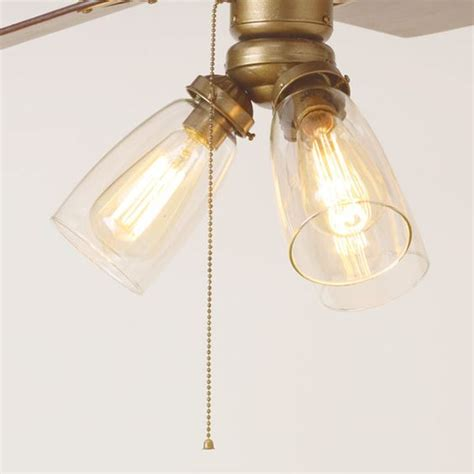 edison light ceiling fan 3 ways to spiff up a ceiling fan vintage style close up