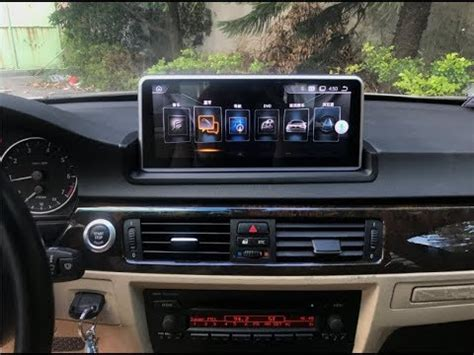 airbag deployment 2002 bmw 3 series navigation system bmw multimedia navigation android system e90 e92 e93 10 25 quot installation dashboard cutting guide