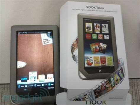 barnes and noble nook tablet nook tablet hitting some shelves early
