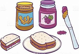 How To Make A Peanut Butter And Jelly Sandwich Clipart ...