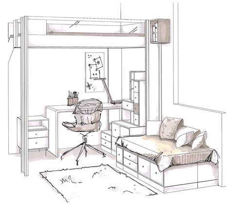 chambre fille avec lit mezzanine chambre ado fille mezzanine best chambre duado mezzanine