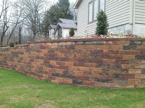 Decorating: Chic Versa Lok For Retaining Wall Ideas