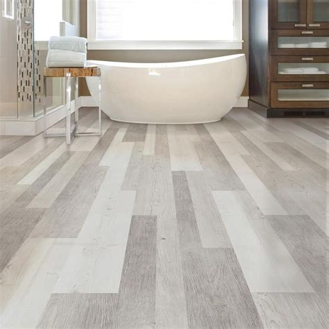 home depot vct tile sles lifeproof frosted oak multi width x 47 6 in luxury vinyl plank flooring 19 53 sq ft