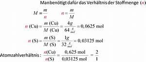 Chemie Mol Berechnen : 05 verh ltnisformel ~ Themetempest.com Abrechnung