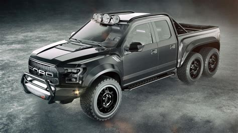 hennessey  building  bhp  wheeled raptor top gear
