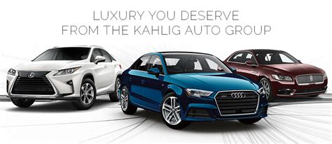 Why Buy A Luxury Car From Kahlig Auto Group In San Antonio, Tx