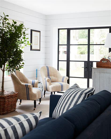 brightbazaars beach house living room  design reveal
