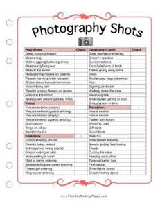 wedding photography checklist 78 ideas about wedding photography checklist on wedding photo list wedding