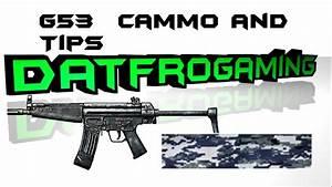 Battlefield 3 G53 Tips and Navy Blue Digital Camo - YouTube