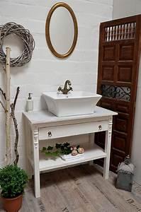 Waschbeckenschrank Für Aufsatzwaschbecken : badm bel vintage land liebe badm bel landhaus ~ Michelbontemps.com Haus und Dekorationen