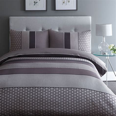 20731 grey bedding sets home collection purple jacquard adelle bedding set from