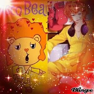 disco bear htf anime Fotografía #129341083 | Blingee.com