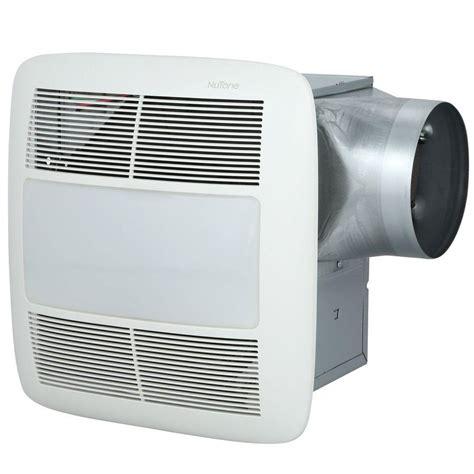 nutone bathroom fan light nutone ultra green 50 cfm ceiling exhaust bath fan with