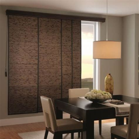 bali woven wood sliding panels contemporary vertical