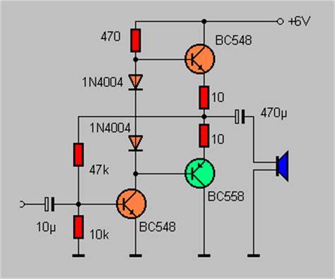 elektronik grundlagen gegentaktverstaerker