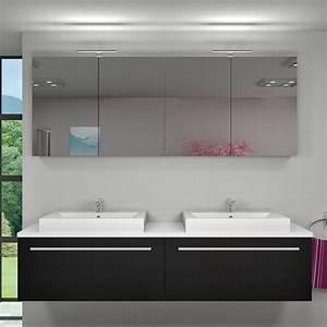 Spiegelschrank Badspiegel Badezimmer Spiegel City 200cm