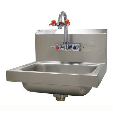 Advance Tabco Wall Mounted Hand Sink by Advance Tabco 7 Ps 55 Wall Mount Commercial Hand Sink W