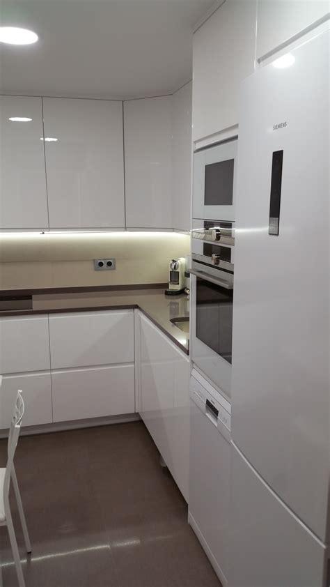 cocinas blancas cocinas blancas instaladas en madrid de