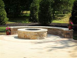 building a stone fire pit : About Fire Pit Stones – The