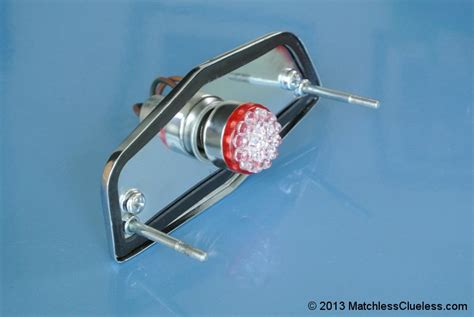 6v Lucas 564 Led Stop And Tail Light • Matchless Clueless