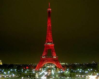 Eiffel Tower Paris France French Tour Night