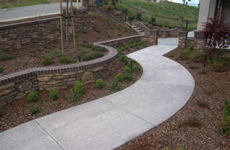 brick and concrete walkway sted concrete walkways sted concrete installation livermore pleasanton ca