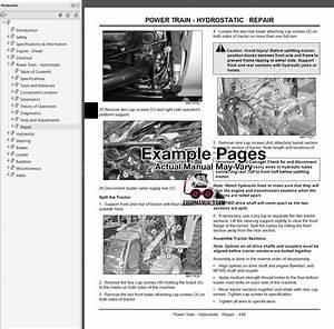 John Deere 3120  3320  3520  3720 Tractor Repair Manual