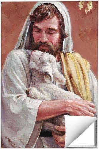 bp jesus lamb quick change art church wall art