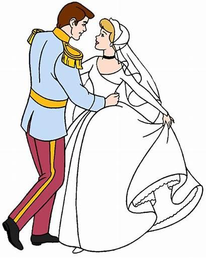 Clipart Disney Clip Cinderella Prince Bride Cartoon