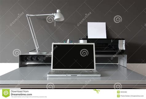 office desk photography frontal home office desk stock photography image 9630482