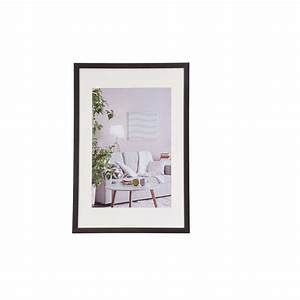 Cadre Photo 40x60 : henzo cadre de photo moderne brun fonc 40x60 cm ~ Dode.kayakingforconservation.com Idées de Décoration