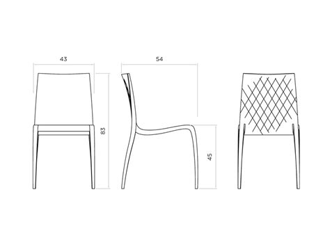 dimension chaise bar and on